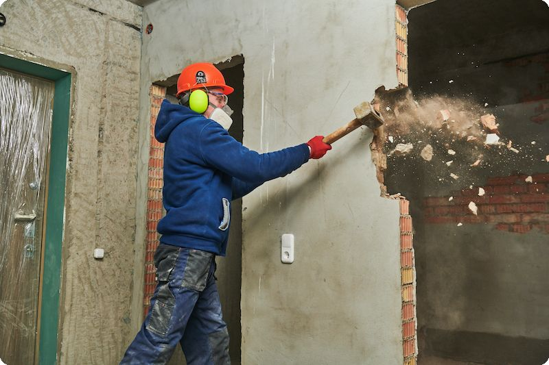 location container prix demolition chantier bruxelles ixelles uccle woluwe etterbeek
